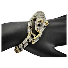 Amazing KJL Animal Swarovski Crystal Bracelet