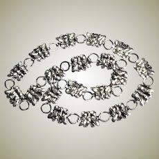 Wonderful Silver Butterfly Necklace