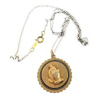 A Spiritual Offering Metal Necklace