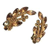 Signed Lisner Elegant Earrings