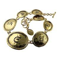 Elizabeth Taylor 'Gold Coast' 22K Gold Plate Necklace