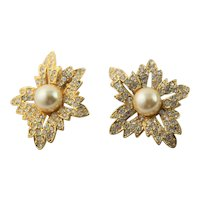 "Kenneth J Lane ""Jackie Onassis""  Earrings"