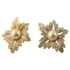 """Kenneth J Lane """"Jackie Onassis""""  Earrings"""