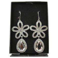 Extreme Beautiful KJL Diamond Like Earrings