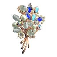 A Bouquet Of Stunning Beaded & Rhinestone Flowers
