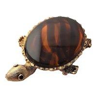 Great Tortoise Like Original by Robert Turtle Brooch
