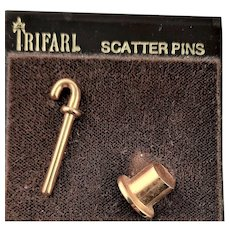 Little Trifari Carded Scatter Pins