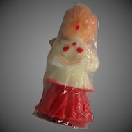 Vintage Choir Boy Christmas Candle