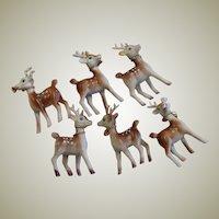 Vintage Hong Kong Six Spotted Deer