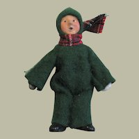 Cute Vitage Byers Choice Caroler