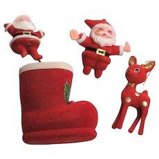 Made In China & Hong Kong Christmas Ornaments