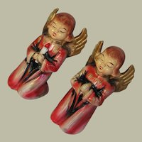 Made In Japan Vintage Christmas Angels