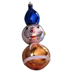 Vintage Colombia Mercury Glass  Ornament