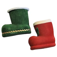 Christmas In July Christmas Boots Candy Containers