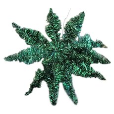 Colored Gold Silver & Green Tinsel Christmas Decorations
