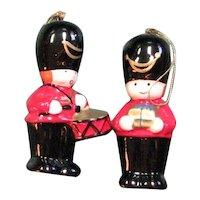 Drummer Boy Salt & Pepper Christmas Shakers