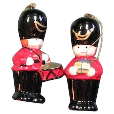 Drummer Boy Salt & Pepper Christmas Shakers