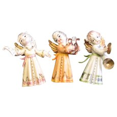 Three Vintage Made In Italy Angels