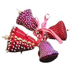 Vintage Handmade Beaded Ornaments