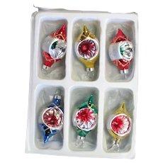Box of Small Mercury Glass Ornaments
