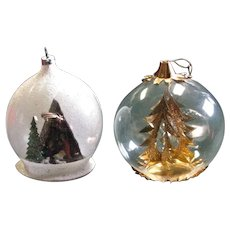Stunning West Germany Glass Ornaments