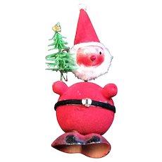 Bobble Head Santa Candy Container