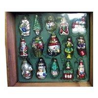 Original Box Full of Thomas Pacconi Museum Series Ornaments