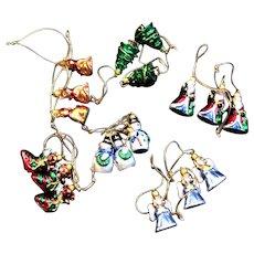 Miniature Hallmark Christmas Ornaments