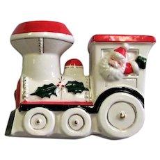Unique Santa Train Ceramic Bank