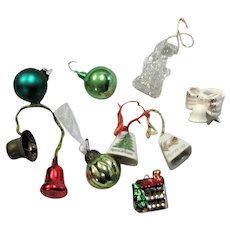 Combination Of Small Christmas Ornaments