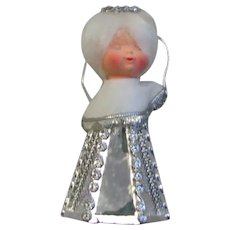 Mirror Glass Angel Christmas Decoration