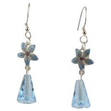 Lovely Gita Maria Handmade Cloisonne` Charm Earrings