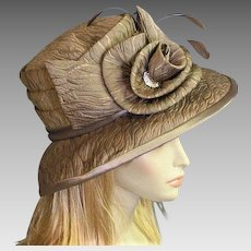 Beautiful Divine Coco Colored Hat