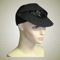 Fun & Different '20's - 1930's Cloth Hat
