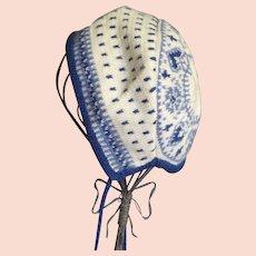 Wonderful Vintage Knitted Children's Hat