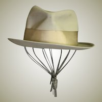 Early 1940's Men's Royal Stetson Gray Hat
