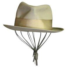 Early 1940's Men's Royal Stetson Gray Hat