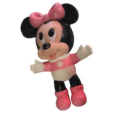 Disney's Minnie Mouse Rubber Toy
