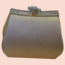 Fabulous Gold Silk Evening Bag