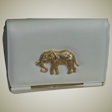 Fun & Wonderful Cross Body Elephant Decorated Purse