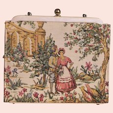 Vintage Fay Mell Designs 1950's Tapestry Bag