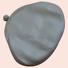 White Leather Judith Leiber Purse