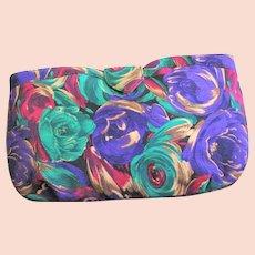 Pretty Flower Fabric J. Renee Clutch Bag