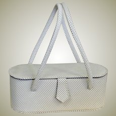 Totally Today Vintage Mesh Metal Bucket Bag