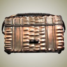 Unique Solid Mic Centurary Copper Box Purse