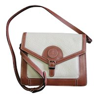 Daniel Hugo Two Colored Leather Cross Body