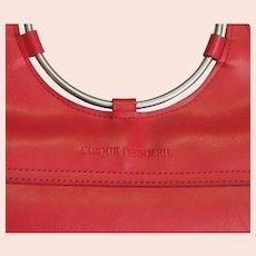Beautiful Cirque Du Soleil Red Handbag