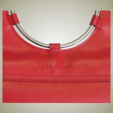 Beautiful Cirque Du Soleil Red Handbag