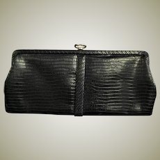 Beautiful Little Black Clutch Bag