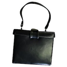 Mam`Selle Original Leather Square Bucket Handbag